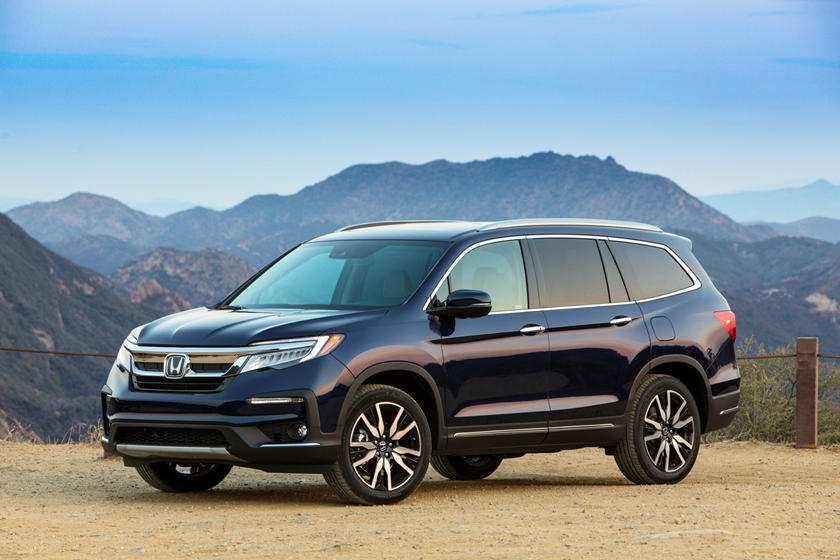 45 A 2019 Honda Pilot Spy Photos Redesign And Review