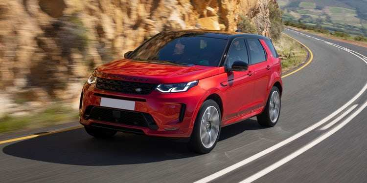 45 A 2019 Land Rover Discovery Sport First Drive