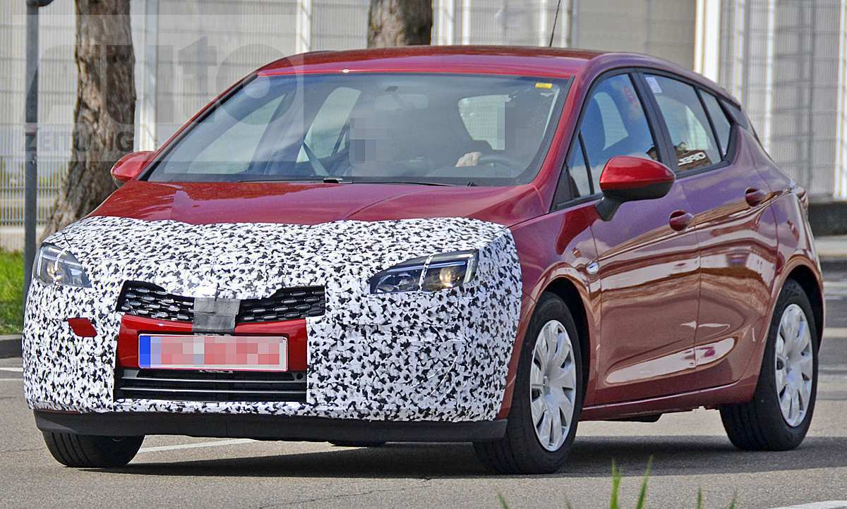 45 A 2019 New Opel Astra Speed Test
