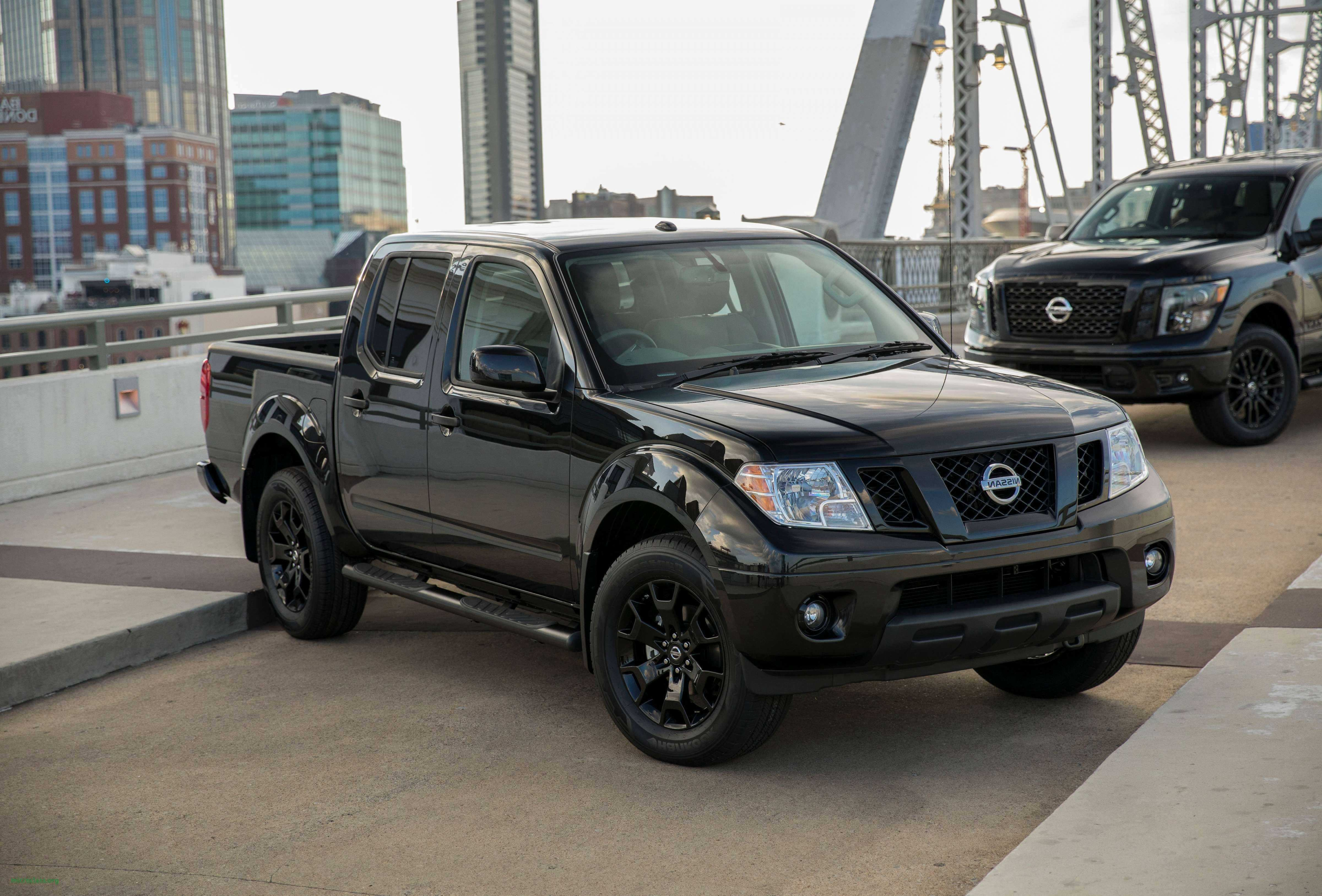 45 A 2019 Nissan Frontier Diesel Configurations
