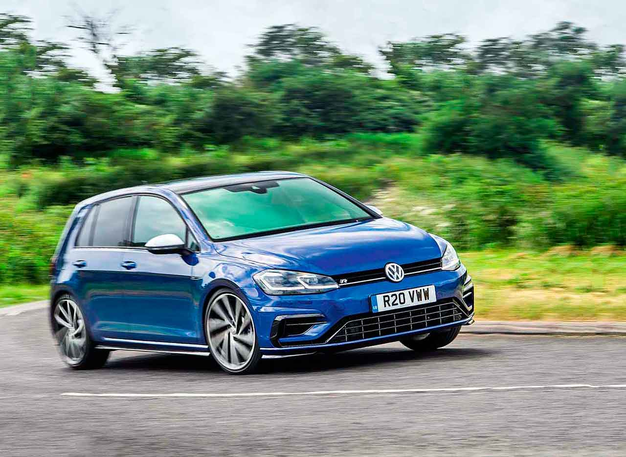 45 A 2019 VW Golf R USA First Drive