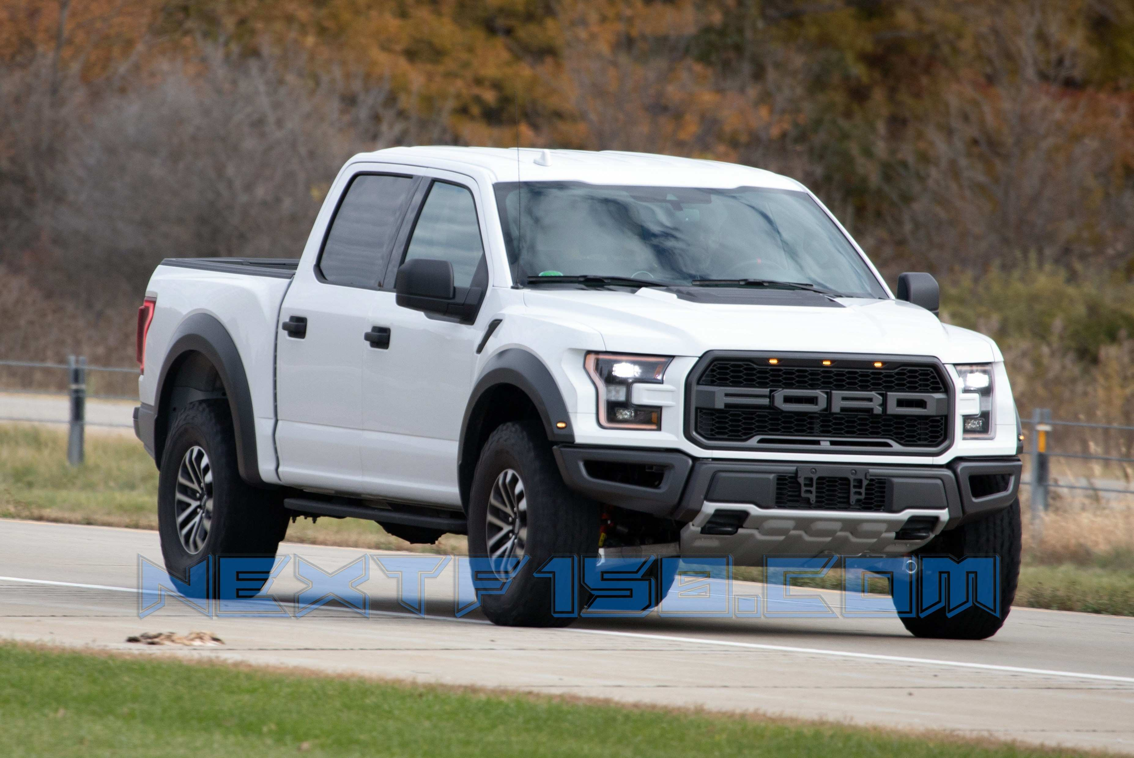 45 A 2020 All Ford F150 Raptor Pictures