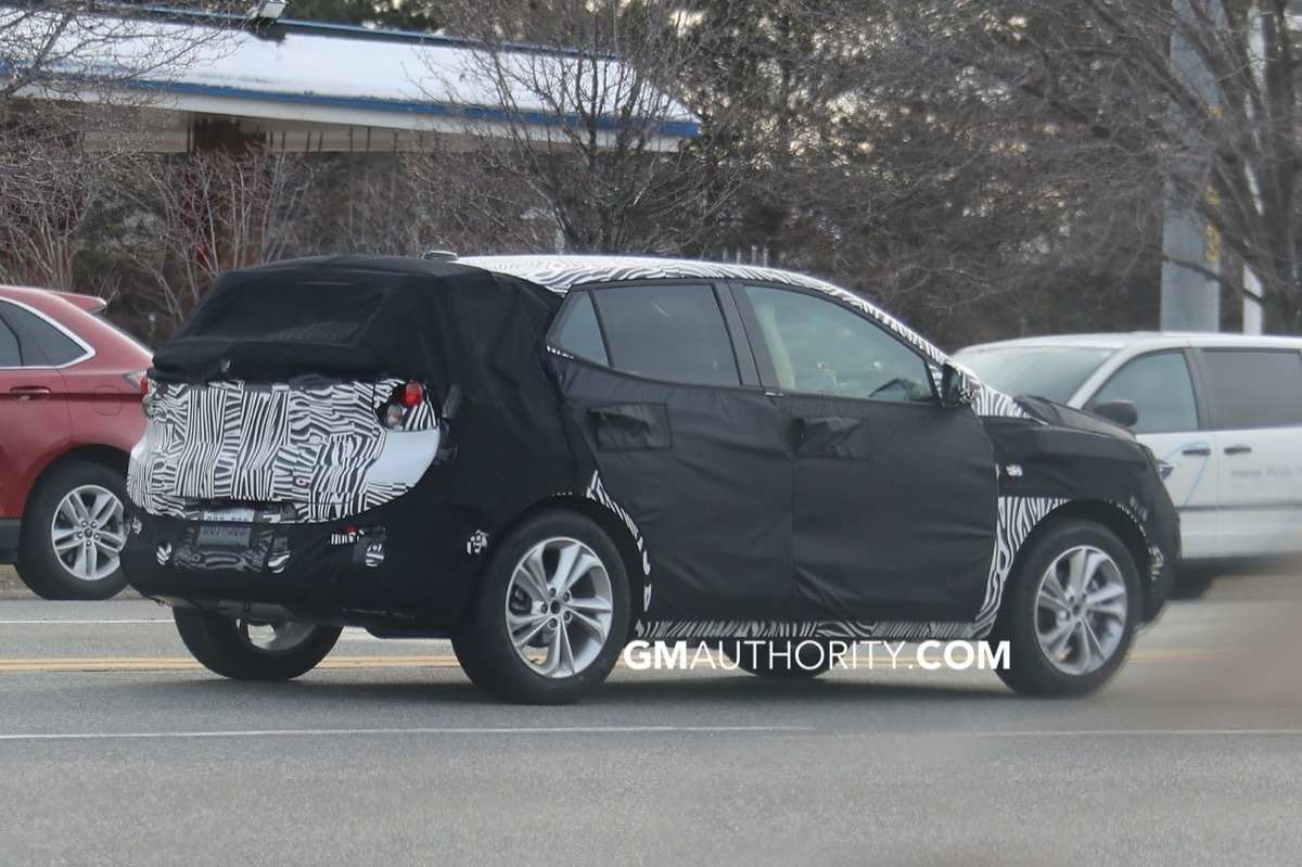 45 A 2020 Buick Enclave Spy Photos Redesign And Concept