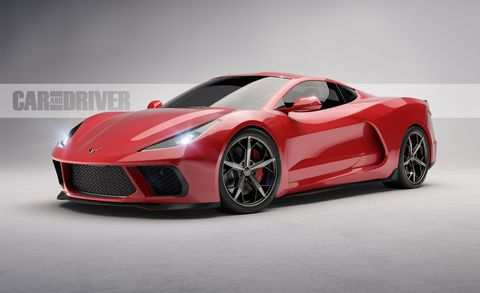 45 A 2020 Chevrolet Corvette Images Release