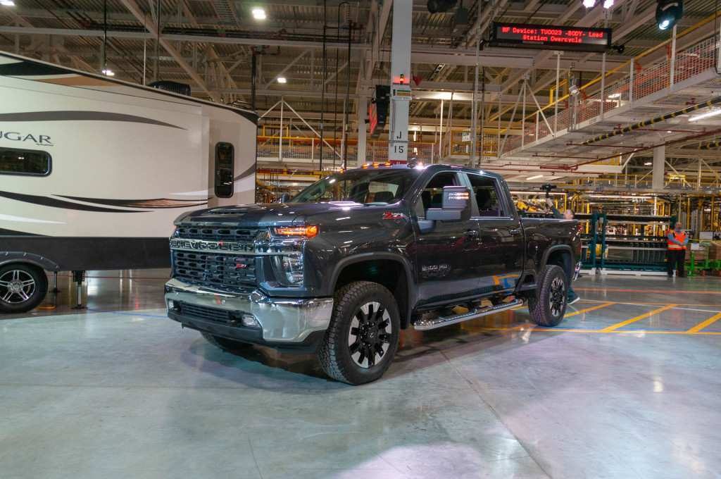 45 A 2020 Chevy 2500Hd Duramax Review