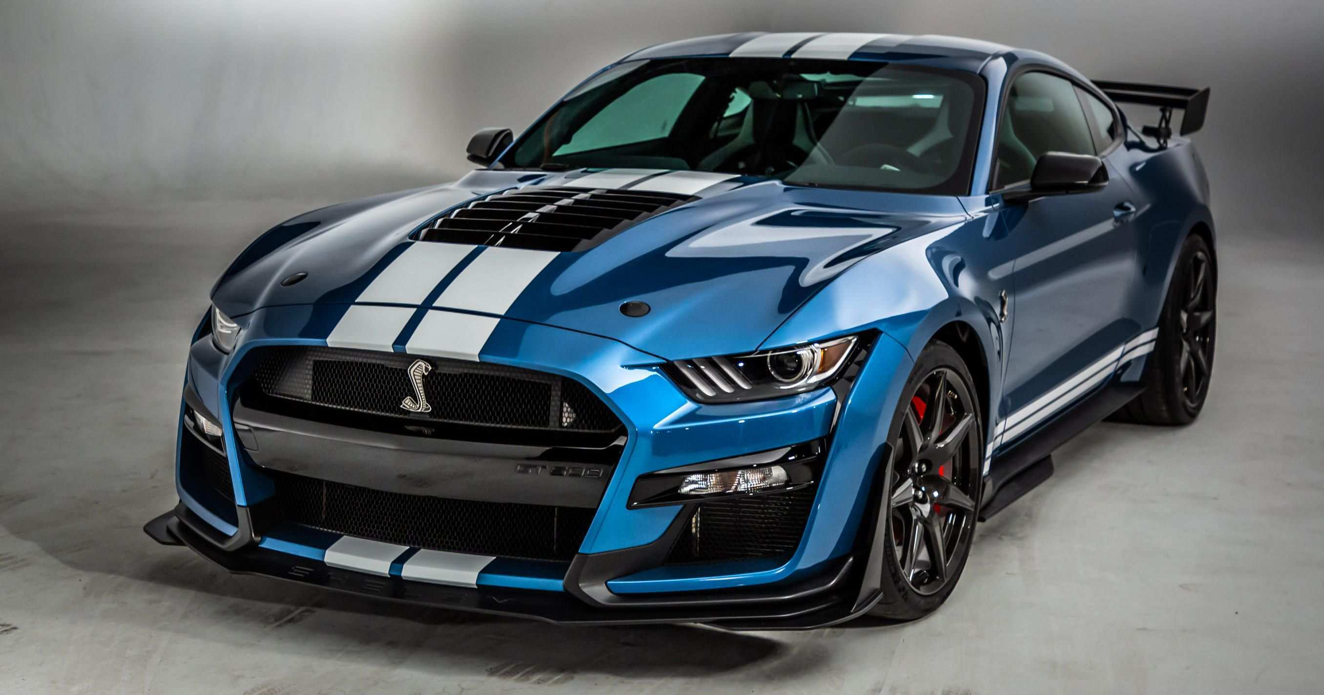 45 A 2020 Ford GT500 Configurations