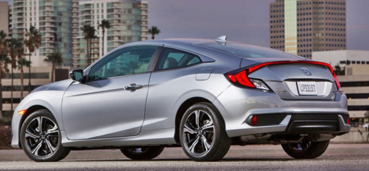 45 A 2020 Honda Civic Coupe Picture