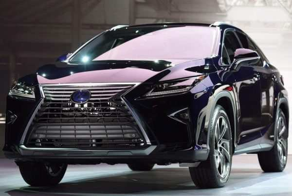 45 A 2020 Lexus RX 450h Spy Shoot