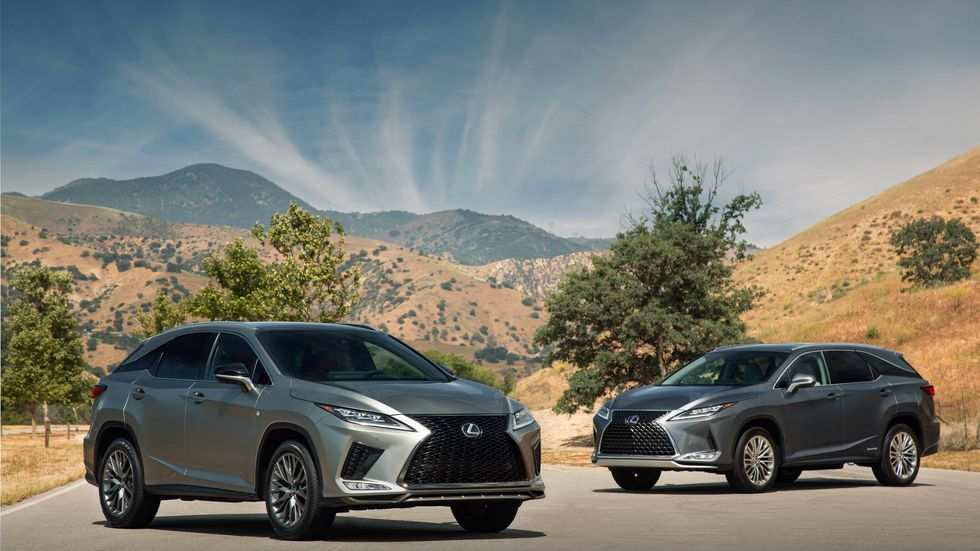 45 A 2020 Lexus Rx 350 F Sport Suv Pictures