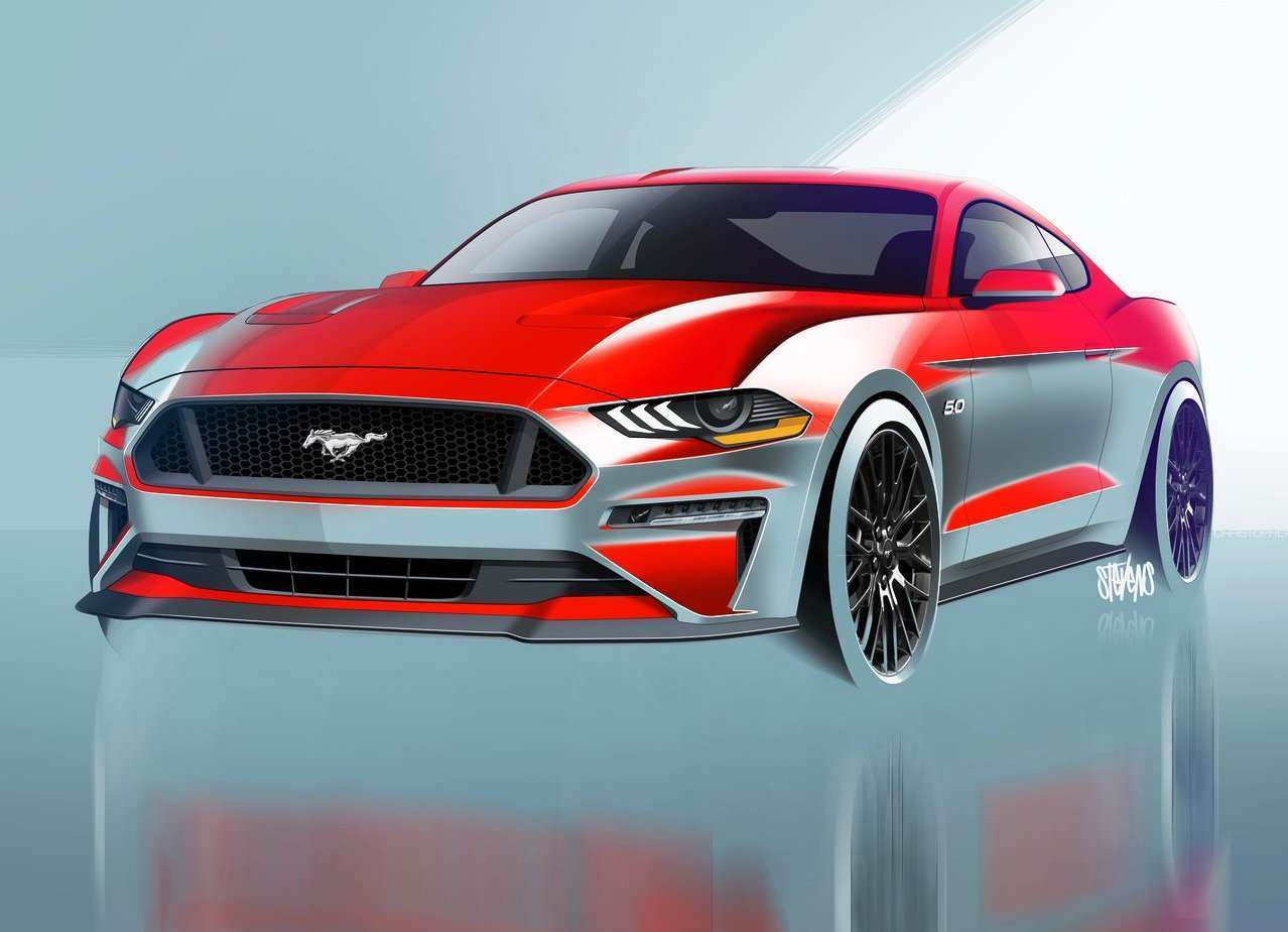 45 A 2020 Mustang Mach 1 Style