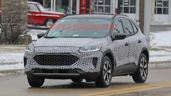 45 A Ford Hybrid Escape 2020 Redesign