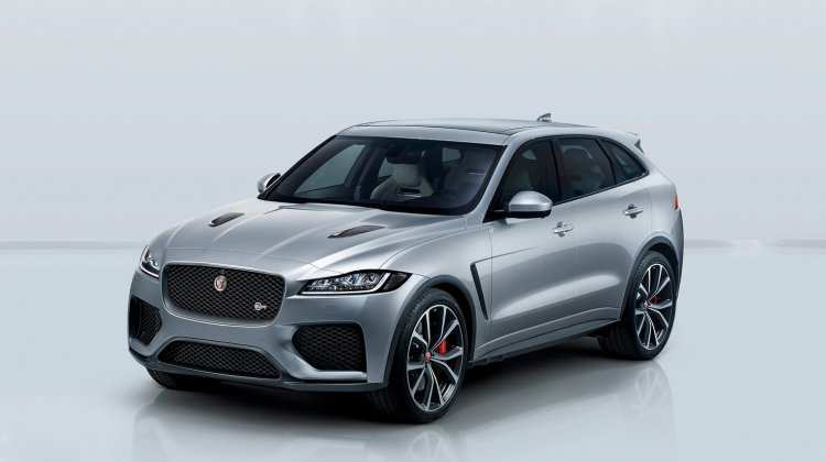 45 All New 2019 Jaguar F Pace Svr Pictures