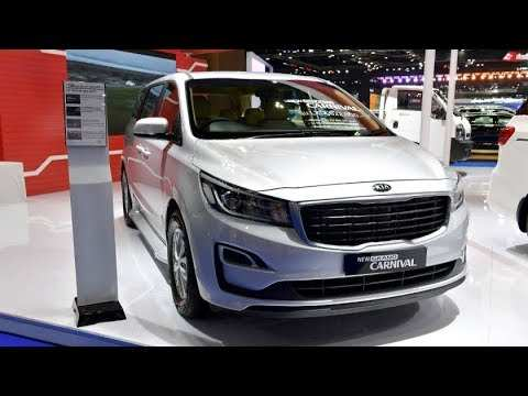 45 All New 2019 Kia Carnival Engine