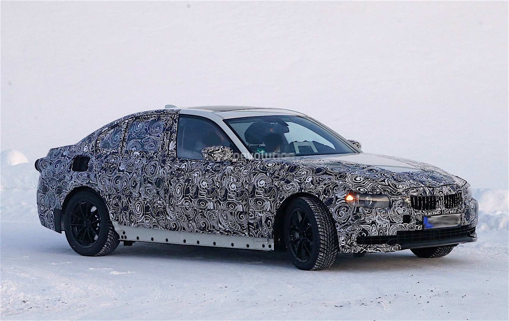 45 All New Spy Shots BMW 3 Series Speed Test