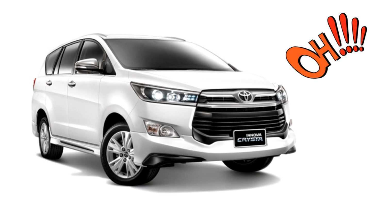 45 All New Toyota Innova Crysta 2020 India Style