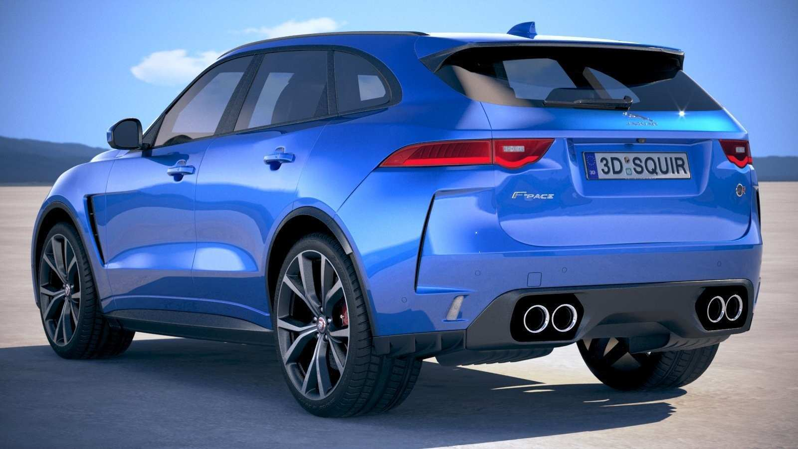 45 Best 2019 Jaguar F Pace Svr Release Date And Concept