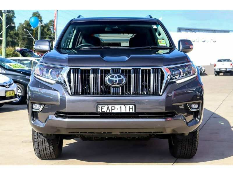 45 Best 2019 Toyota Prado Interior