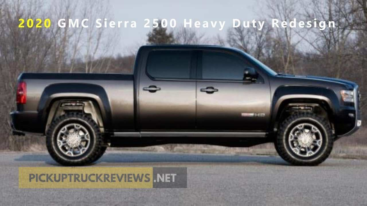 45 New 2020 GMC Sierra 2500Hd Redesign And Review