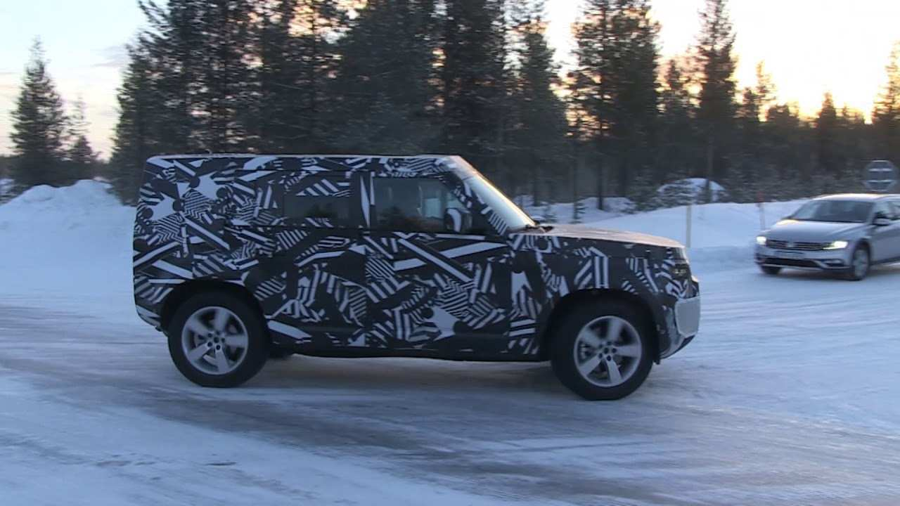 45 New 2020 Land Rover Defender Exterior