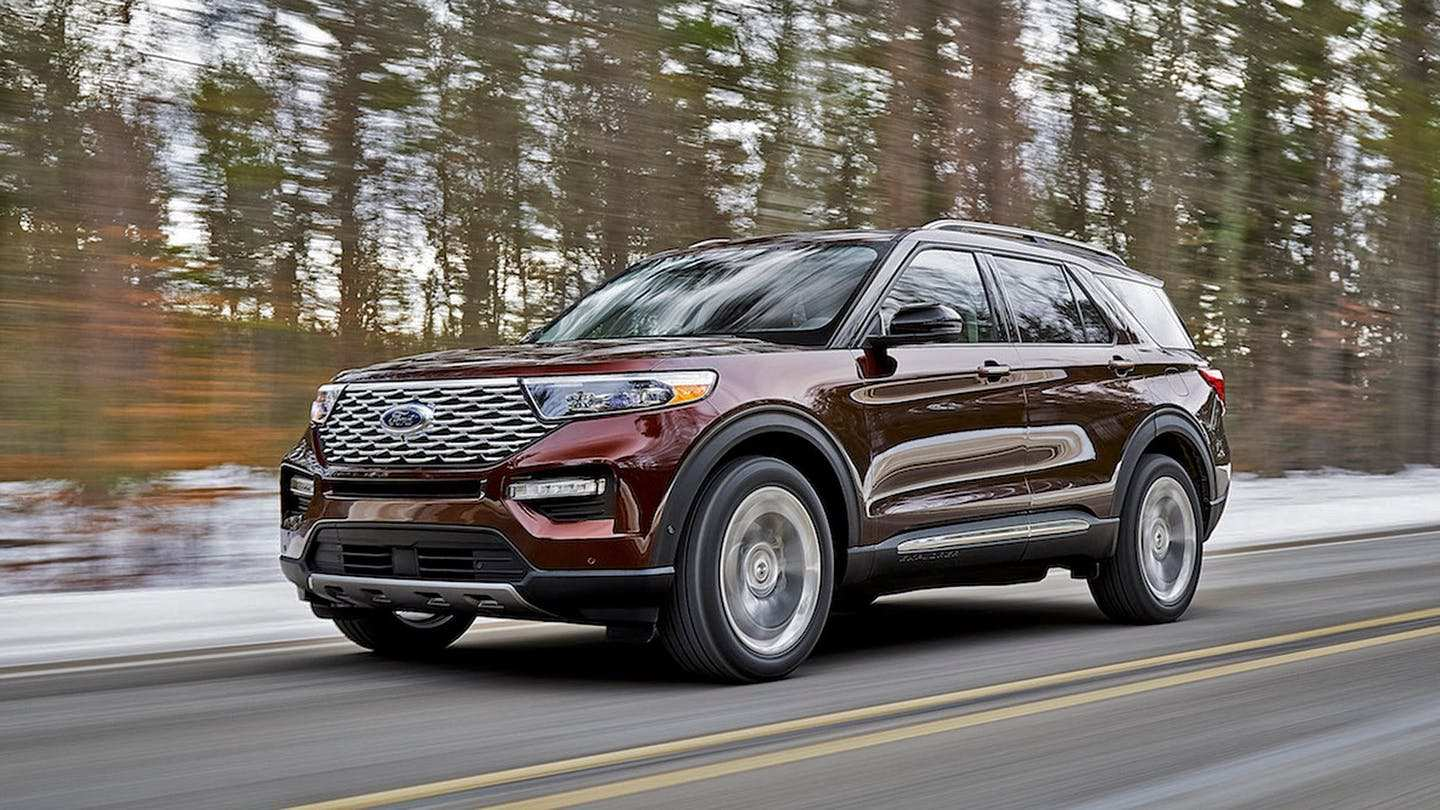 45 New 2020 The Ford Explorer Price