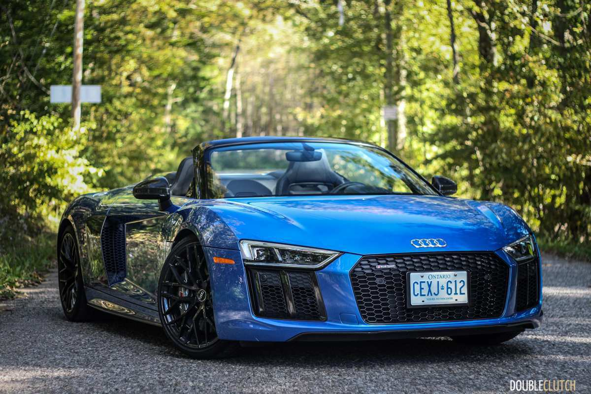 45 The 2019 Audi R8 V10 Spyder Spy Shoot