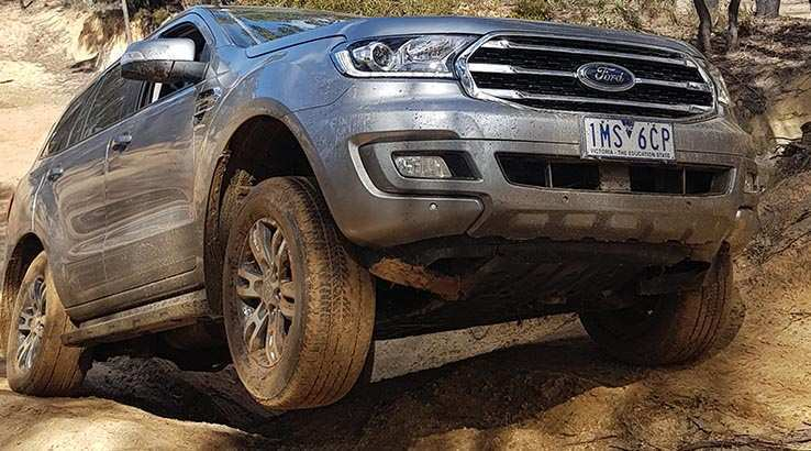 45 The 2019 Ford Everest Research New