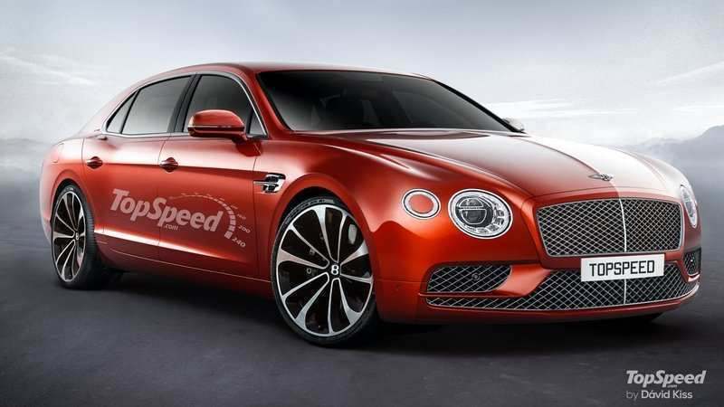 45 The 2020 Bentley Flying Spur Exterior