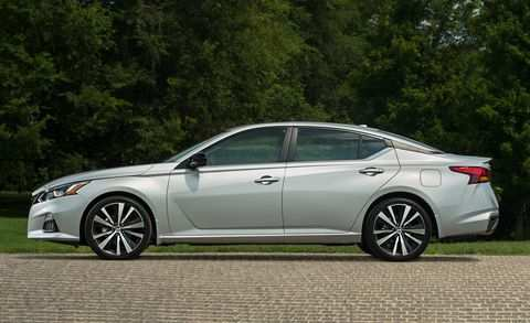 46 A 2019 Nissan Altima Spy Shoot