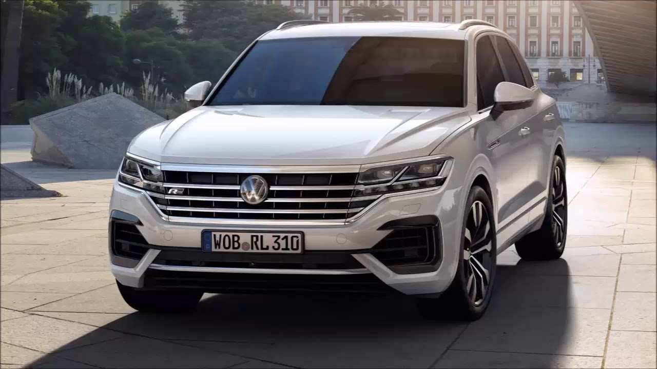 46 A 2020 VW Touareg Speed Test