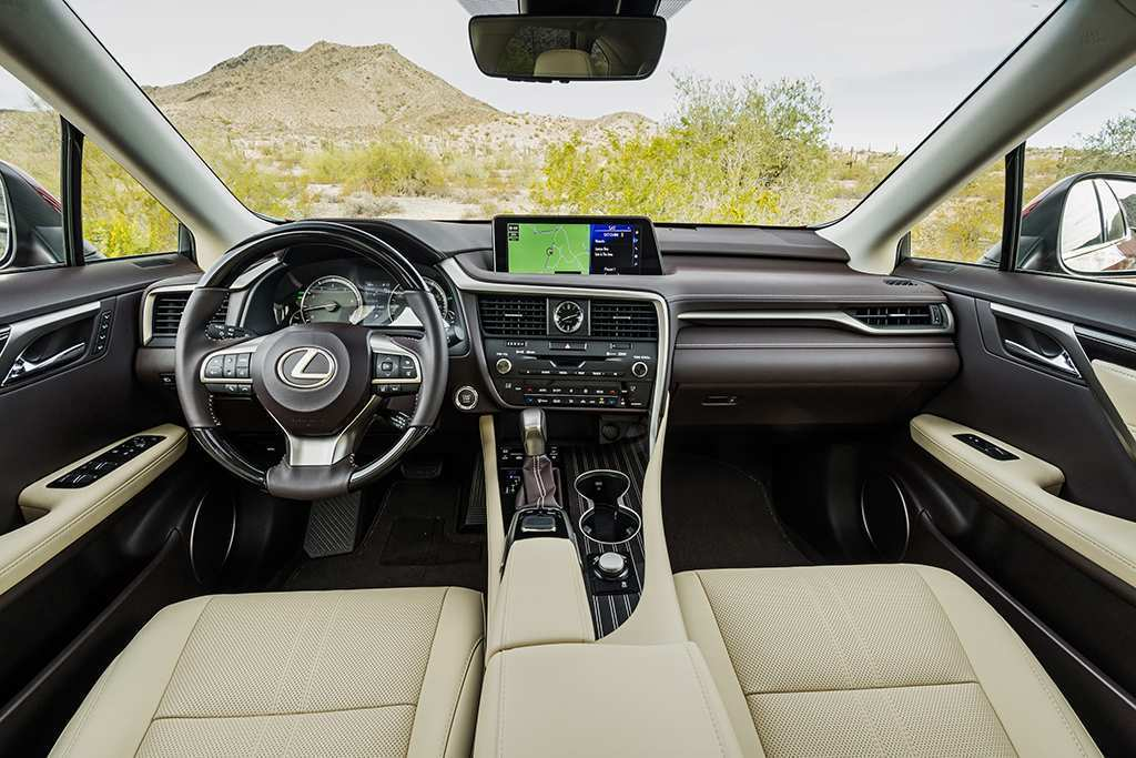 46 A Lexus Lx 2019 Interior First Drive