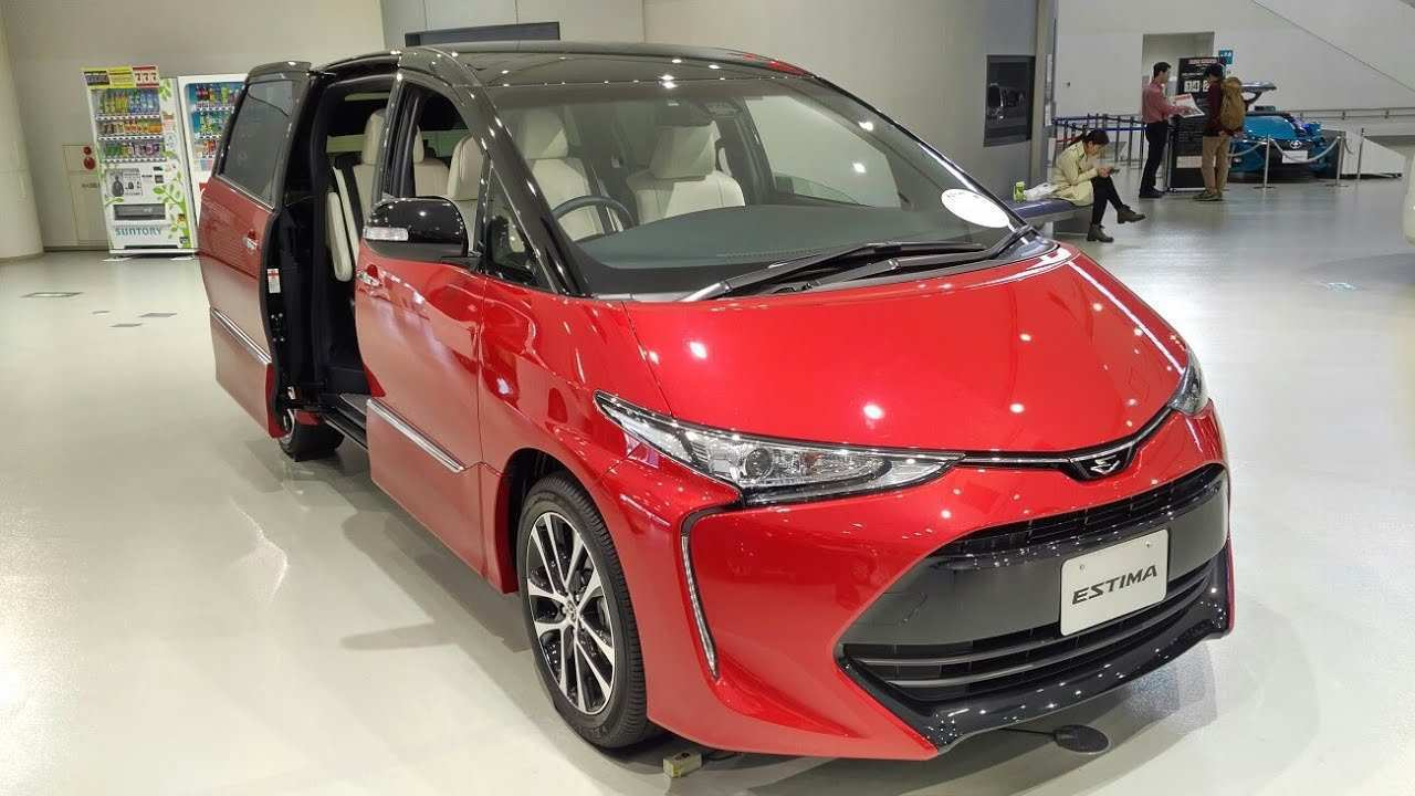 46 All New 2019 Toyota Estima Exterior