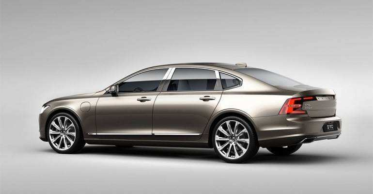 46 All New 2019 Volvo S90 Research New