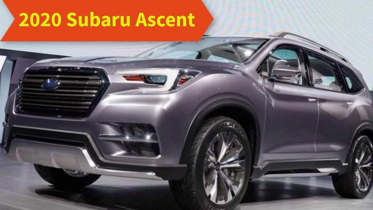 46 All New 2020 Subaru Ascent Release Date Ratings