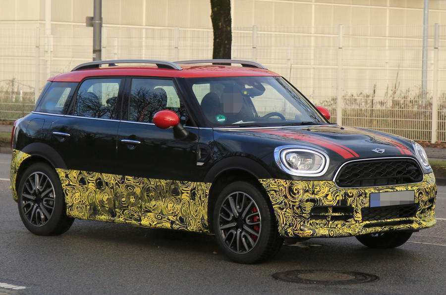46 All New Spy Shots Mini Countryman New Concept