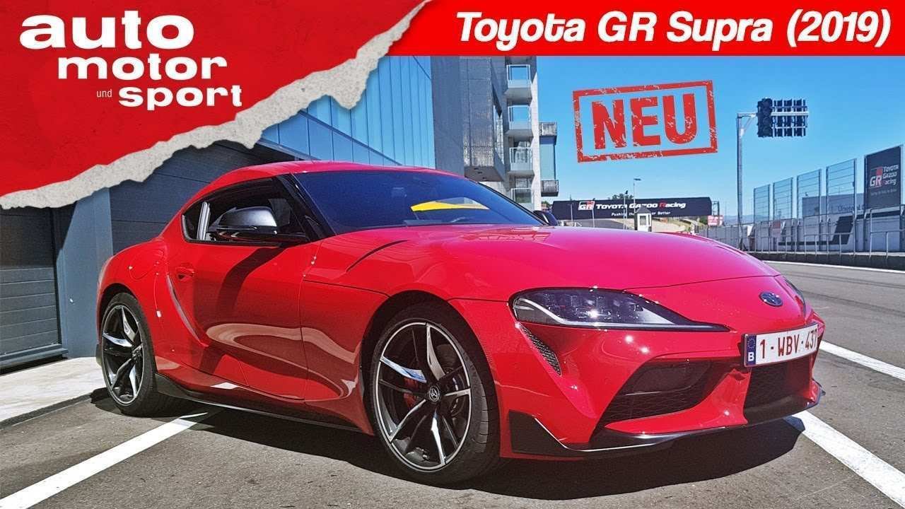 46 All New Toyota Supra 2019 Research New