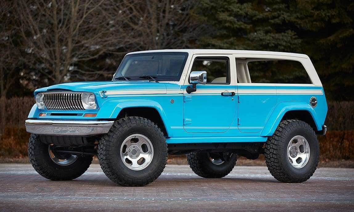 46 Best 2020 The Jeep Grand Wagoneer New Concept