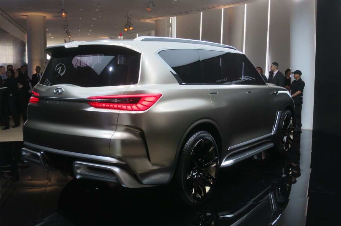 46 New 2019 Infiniti Qx80 Monograph Spy Shoot