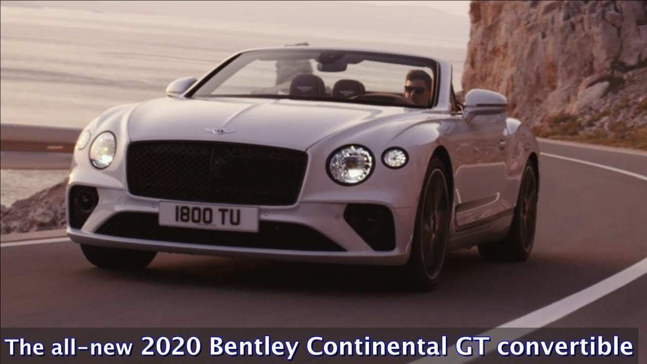 46 New 2020 Bentley Continental GT Release Date