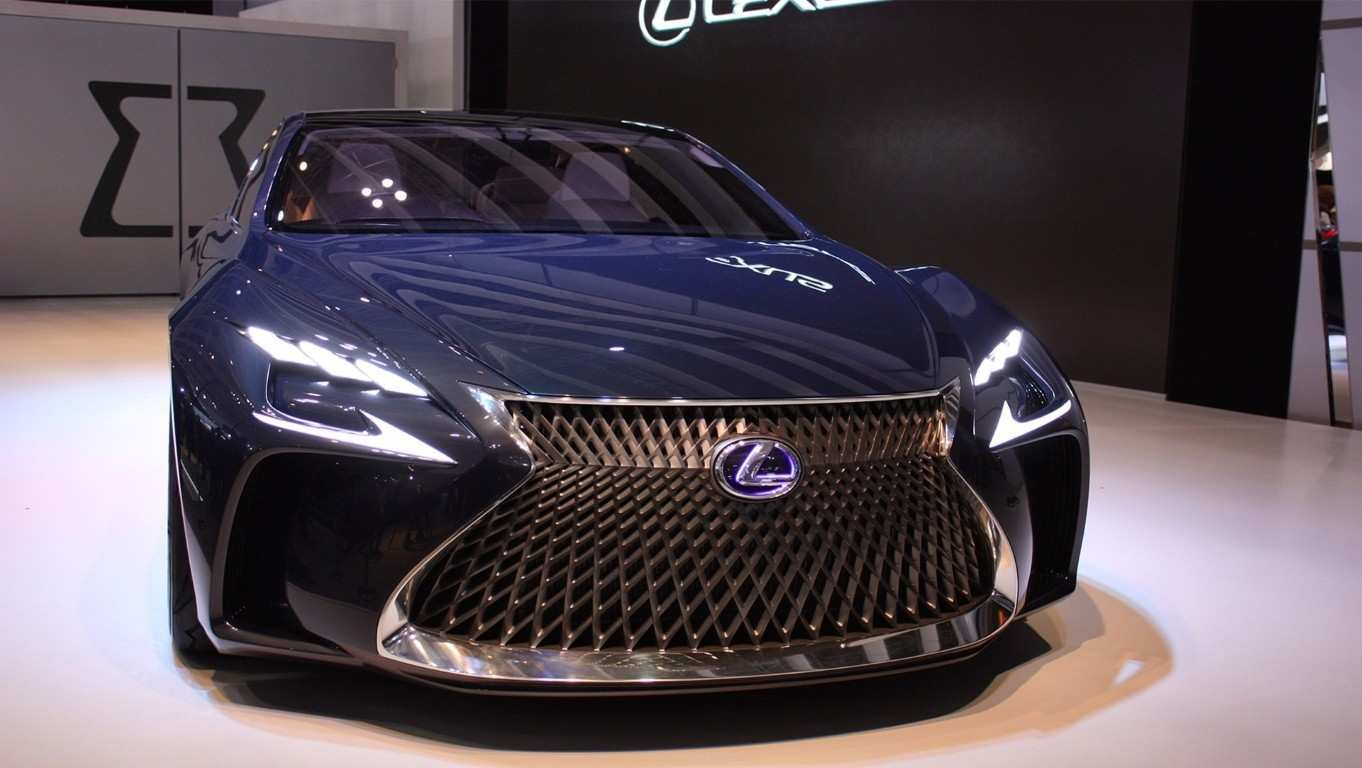 46 New 2020 Lexus LS Redesign And Concept