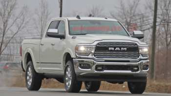 46 New 2020 Ram 2500 Diesel Spy Shoot