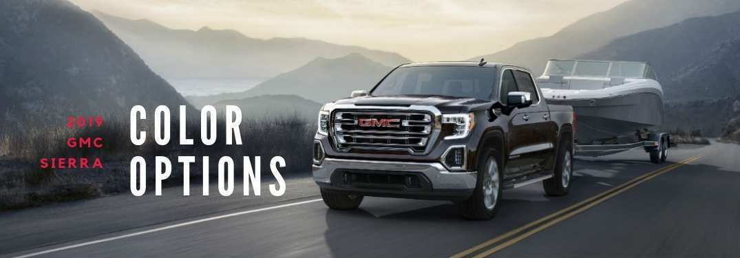 46 New GMC Truck Colors 2020 Style