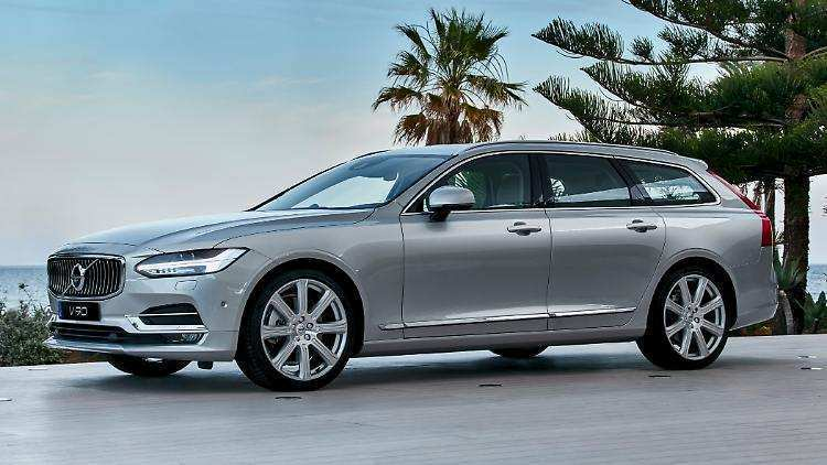 46 New Volvo V90 Wallpaper