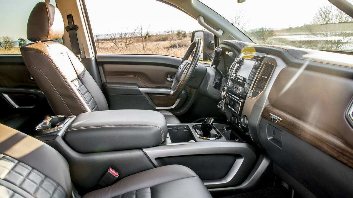 46 The 2019 Nissan Titan Interior Concept