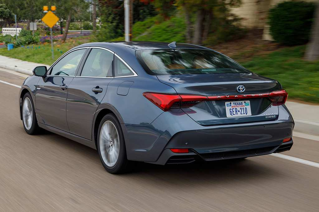 46 The 2019 Toyota Avalon Hybrid Redesign And Concept