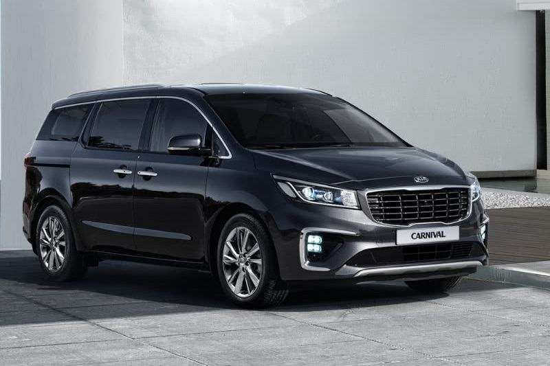 46 The 2020 Kia Carnival Interior
