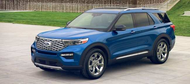 46 The 2020 The Ford Explorer New Model And Performance