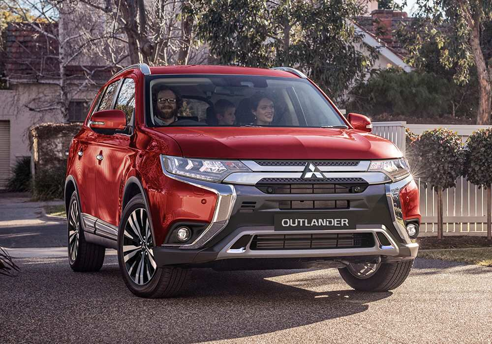 46 The Best 2019 All Mitsubishi Outlander Sport Redesign And Concept