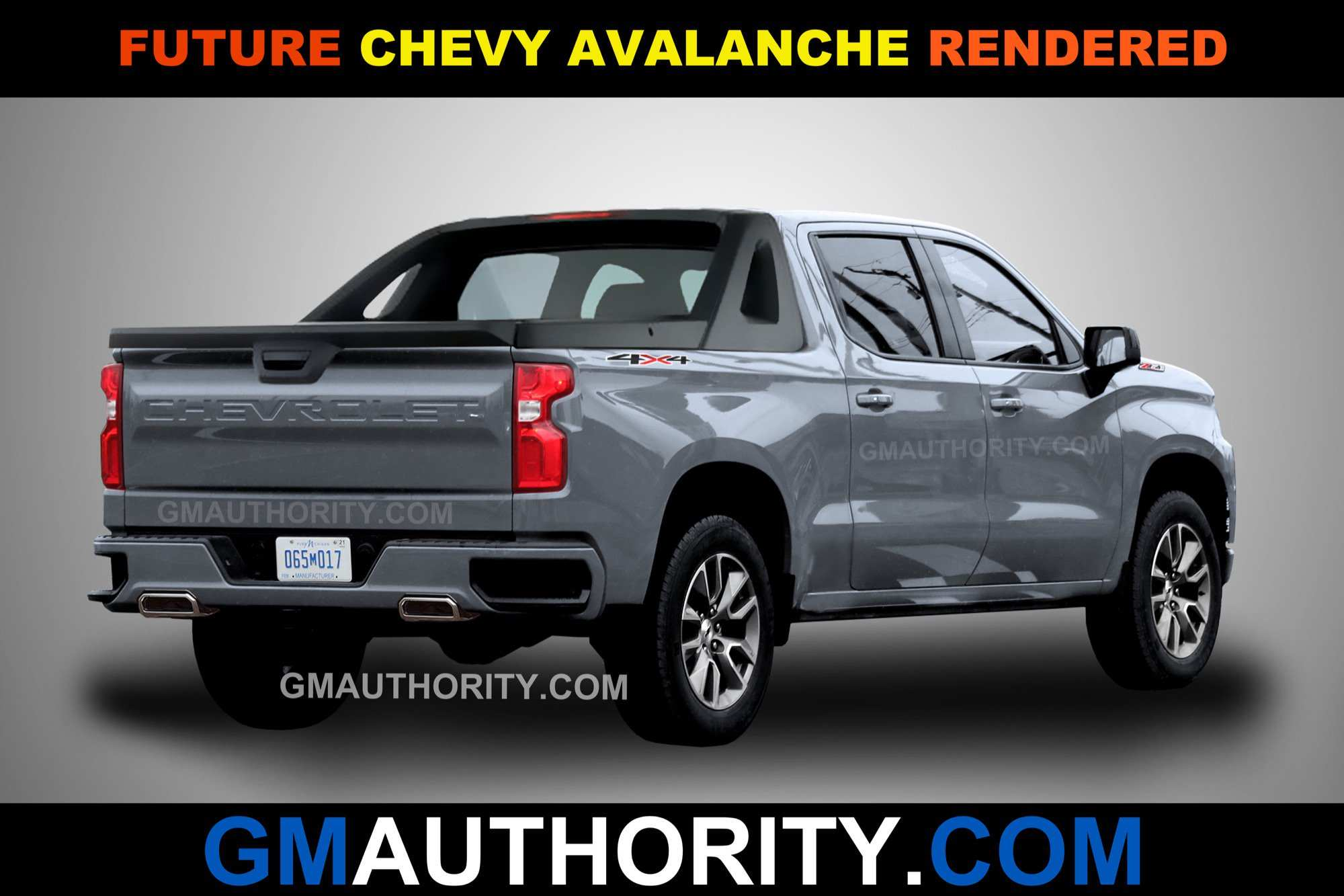 46 The Best 2019 Chevy Avalanche Interior