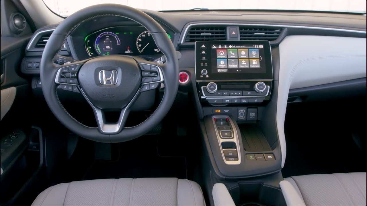 46 The Best 2019 Honda Insight Exterior And Interior