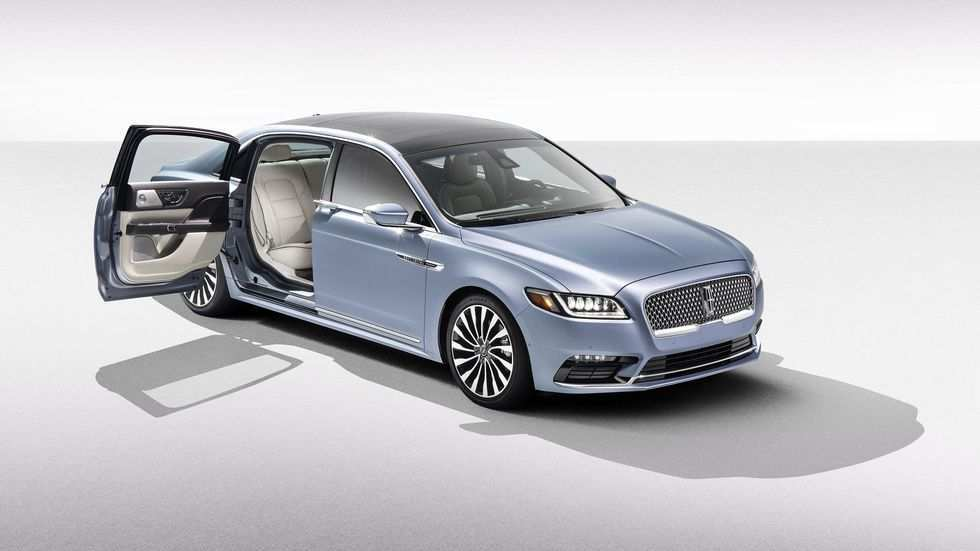 46 The Best 2019 Lincoln Continental Exterior